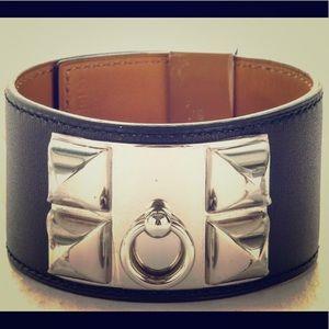 NIB Hermes Black CDC Cuff